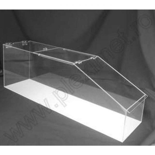 Cutie vrac din plexiglas incolor